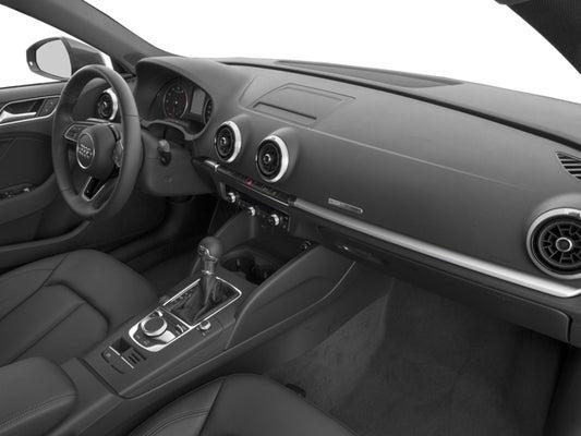 2018 Audi A3 Sedan 20t Premium Fronttrak St Augustine Fl Area